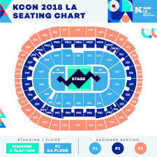 Kcon Ny 2017 Seating Chart Kcon La 2018 Official Thread Live Concert Videos August