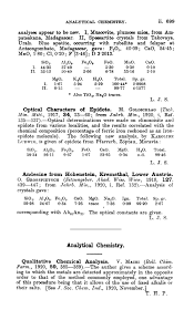 analytical chemistry journal of the chemical society abstracts  analytical chemistry