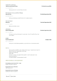 How To Set Up A Resume Interesting Set Up Resume Example Resume Setup Example Lidazayiflama