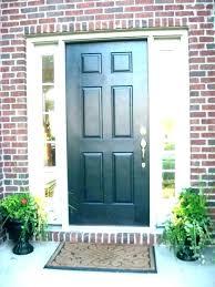 front doors with glass side panels door panel composite pa