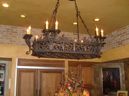 rustic chandeliers metal