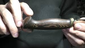 Опыт № 184 <b>нож Финский</b> мастерской Чебуркова <b>сталь К340</b> ...