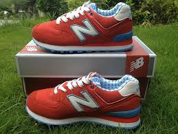 new balance shoes red and blue. new balance wl574yrd yacht club lovers-red blue white shoes-for womens shoes red and