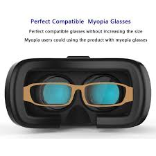 tv glasses. buy tech gear vr box virtual reality 3d tv glasses goggles with bluetooth remote control online | best prices in india: rediff shopping tv