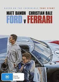 Amazon Com Ford V Ferrari Matt Damon Christian Bale Non Usa Format Region 4 Import Australia Movies Tv