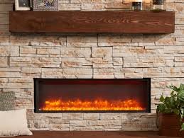 supercast mantle electric built in fireplace