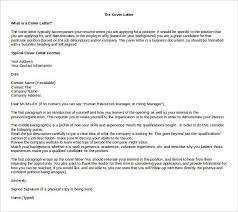 Resume Cover Letter Free Word Template Download Example