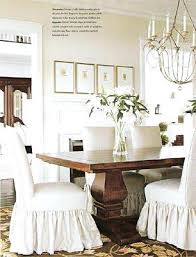 dining room slip covers dining chairs white dining chair slipcovers slip covered dining room