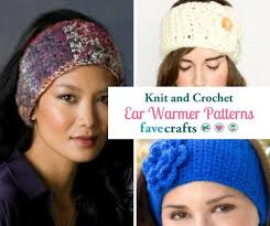 Knit Ear Warmer Pattern Extraordinary 48 Knit Crochet Ear Warmer Patterns FaveCrafts