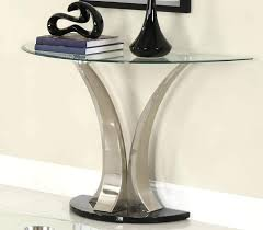glass entry table modern glass console table small glass entryway table