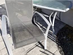 outdoor furniture patio chair table