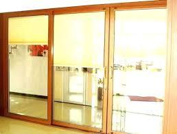 single patio door with blinds between glass patio doors with blinds sliding shades for patio doors