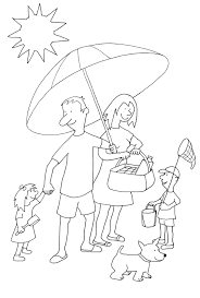 Small Picture Summer Coloring Pages to Print