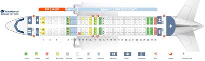 737 800 Seating Chart