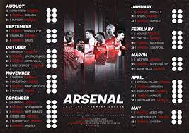 Arsenal 21/22 Premier League fixtures ...