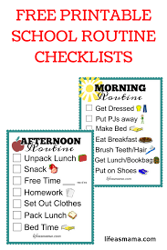 free printable charts and checklists. Free Printable Checklists That Are Perfect For Both A Morning And Evening Routine Kids. Charts J