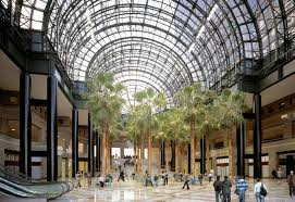 winter garden at brookfield place