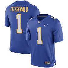 Jersey Player Royal Larry Alumni Fitzgerald Nike Pitt Panthers efcdffeeeadeedea|The Gridiron Uniform Database