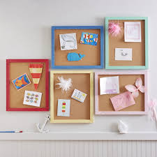 Pin Up Cork Boards With Frame Decorating Kids Room