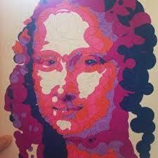 querkles masterpieces a puzzling colour by numbers book by thomas pavitte leonardo da leonardo da vincimona lisanumberscoloring