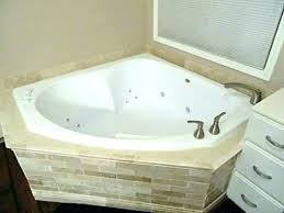 jacuzzi hot tub whirlpool bath shower combo corner with white curtain previous a tile ideas t