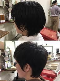 女性のベリーショート硬毛多毛で広がりやすい髪質でも収まります