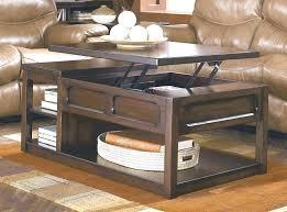 lift top coffee table storage rustic caleb mahogany wood