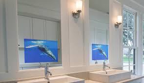 Waterproof Mirror Tv Bathroom Home Design