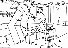 minecraft coloring pages zombie pigman 11 i 50 luxury image minecraft coloring page