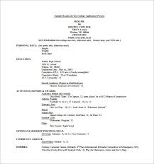 Sample Resume Templates Sample High School Resume Luxury Resume