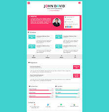 Ev Resume Responsive Cv Template This Site Work With As Fully