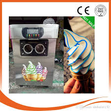Ice Cream Vending Machines Adorable 48 Gelato Desktop Mini Soft Ice Cream Vending Machine Fried Ice