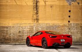 Need mpg information on the 2014 ferrari 458 italia? Wallpaper Red Wall Mirror Red Wall Ferrari Ferrari Yellow Yellow Italy 458italia Rear View Otragenie Images For Desktop Section Ferrari Download