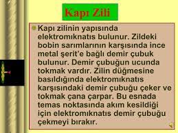 PPT - A. KAPI ZİLİ, RADYO, TELEFONDA MIKNATIS BULUNUR. PowerPoint  Presentation - ID:3506778