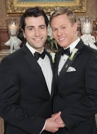 watch first gay male wedding in soap opera history advocate com watch first gay male wedding in soap opera history