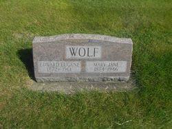 Edward Eugene Wolf (1872-1961) - Find A Grave Memorial