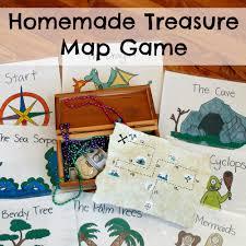 Design A Treasure Map Activity Homemade Treasure Map Game Researchparent Com