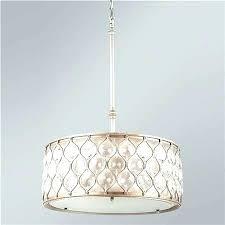 crystal drum chandelier chandeliers a hourglass and bronze pendant