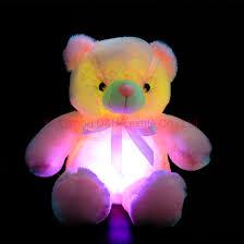 Glow In The Dark Teddy Bear Night Light Hot Item 20 Inch Creative Night Light Led Stuffed Animals Lovely Bear Glow Plush Toys Gifts For Kids