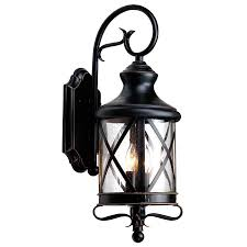 wondrous black design outdoor lighting with unique pattern syles style
