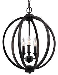 corinne brz 3 light orb chandelier pendant
