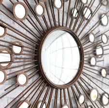 sunburst wall mirror kohls sunburst wall mirror oversized sunburst mirror wall art set of 3 sunburst