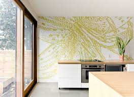 Green Kitchen Wallpaper Picture Great Ideas