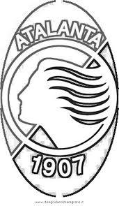 Disegno Atalanta Categoria Sport Da Colorare