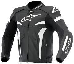 alpinestars celer leather jacket black white motorcycle accessories australia scm