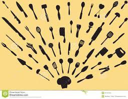 kitchen utensils silhouette vector free. Kitchen Utensils Silhouette Vector. Royalty-Free Stock Photo Vector Free K