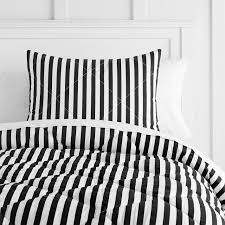 grey striped bed black and white striped bedding the emily meritt pirate stripe comforter sham pbteen home pictures
