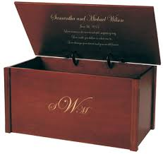 wedding memory chest