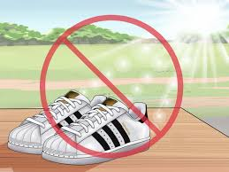 White And Light Pink Superstars 3 Ways To Keep White Adidas Superstar Shoes Clean Wikihow
