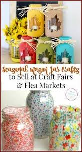 Decorated Mason Jars For Sale 100 Mason Jar Crafts to Make Sell for Extra Cash Mason jar 90